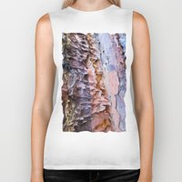 nick cave Biker Tanks featuring Cave by Dalmatica