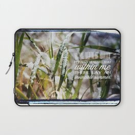 Invincible Summer. Laptop Sleeve