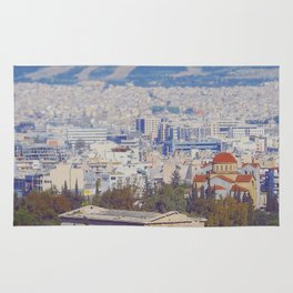 Ancient Cityscape Rug