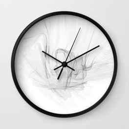 Koch Curve abstraction 01 Wall Clock
