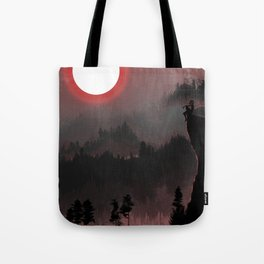 Hunters Moon/Dark Forest Tote Bag