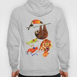 Rainforest animals 2 Hoody