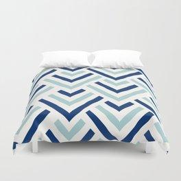 Barbados blue Duvet Cover