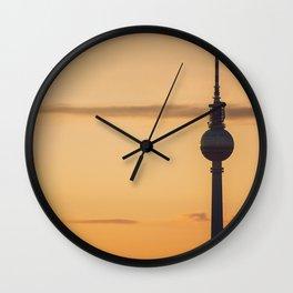 The Fernsehturm - Berlin TV Tower Wall Clock
