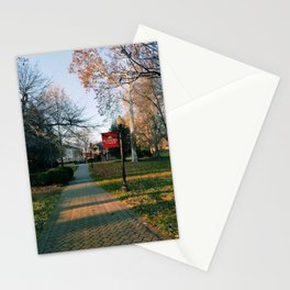 Roanoke College Walks at Sunrise Stationery Cards
