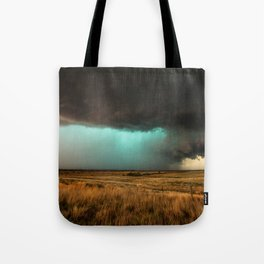Jewel of the Plains - Storm in Texas Tote Bag