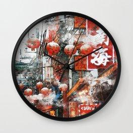 Yokohama Japan Wall Clock
