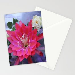 Roses Are White, Cactus is Rose... Stationery Cards