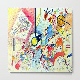 Wassily Kandinsky Untitled Metal Print
