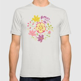 Oriental Blooms T-shirt