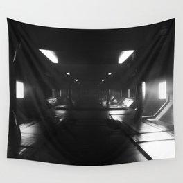 Sci-Fi Hall 3D Artwork Wall Tapestry