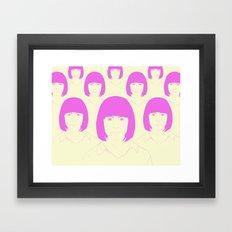 Multitud Framed Art Print