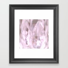 Something Pink And Shiny... For You! Framed Art Print