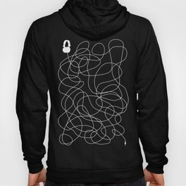 Headphone Maze Hoody