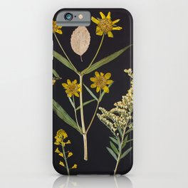 Plants + Leaves 3 iPhone Case