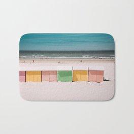 Beach Cabins North Sea Bath Mat