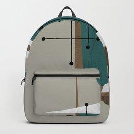 Mid Century Modern Print 45 Backpack