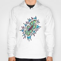 zentangle Hoodies featuring Zentangle #2 by ShaMiLa