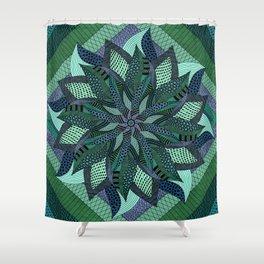 Sea Dream Mandala Shower Curtain