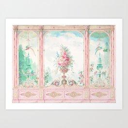 French Conservatory, Garden Room Art Print