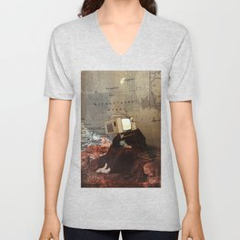 Thoughts of Future Costs Unisex V-Neck