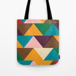 Kilim Chevron Tote Bag
