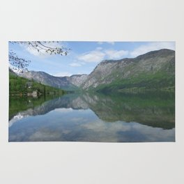 Lake Bohinj, Slovenia Rug