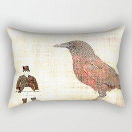 Dompteur de corbeau  Rectangular Pillow