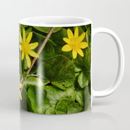 Creeping Wildflowers Coffee Mug