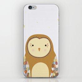 Autumn the Owl iPhone Skin