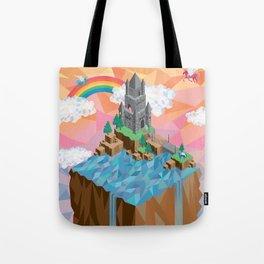 Isometric Castle Tote Bag