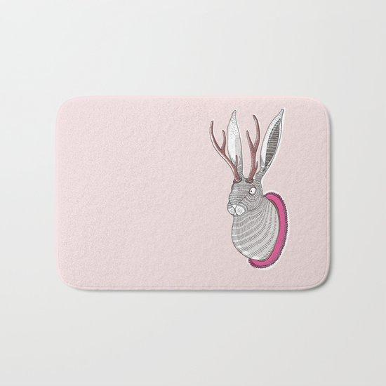 Deer Rabbit Bath Mat