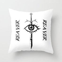 The Reaver  Throw Pillow
