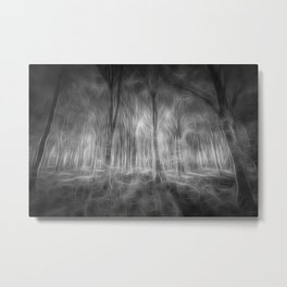 The Haunted Forest Metal Print