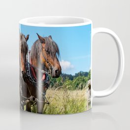 #Belgian #draft #horses Coffee Mug
