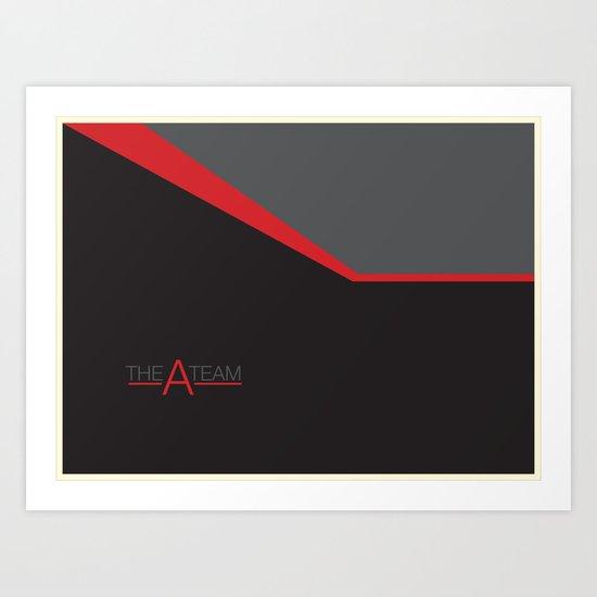 The A Team Art Print