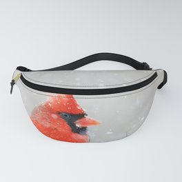 Male Northern Cardinal Fanny Pack