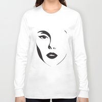 shadow Long Sleeve T-shirts featuring Shadow by enluminat