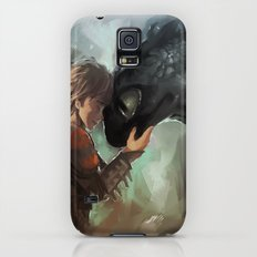 hiccup & toothless Galaxy S5 Slim Case