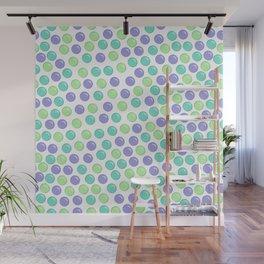 Bubble Drops Pattern Print Wall Mural