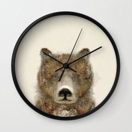 the grizzly Wall Clock