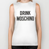 moschino Biker Tanks featuring moschino sweater moschino by Claudio Velázquez