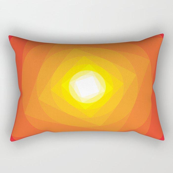 Gradient Sun Rectangular Pillow