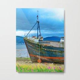 Highland Shipwreck Metal Print