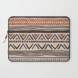 Hand-Drawn Ethnic Pattern Laptop Sleeve