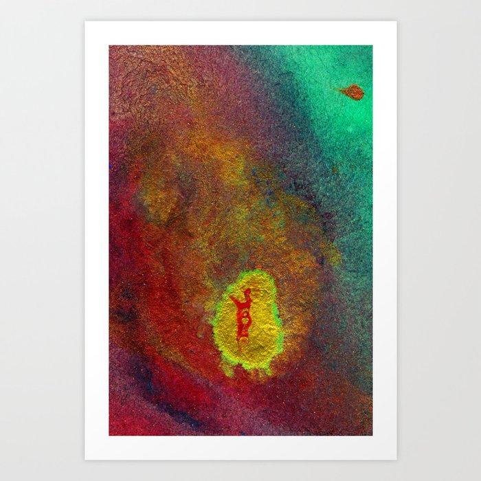 Essential Elements III - Earth Art Print