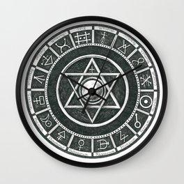Alchemist's Seal Wall Clock
