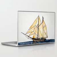 sail Laptop & iPad Skins featuring sail by The Traveling Catburys