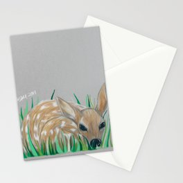 Baby Fawn Stationery Cards