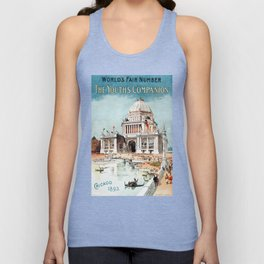 Vintage 1893 Chicago World's fair expo Unisex Tank Top